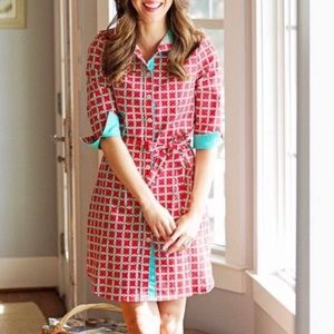 Haley and the Hound Tailored Shirt Dress